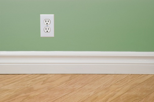 White Paint For Trim And Baseboards
