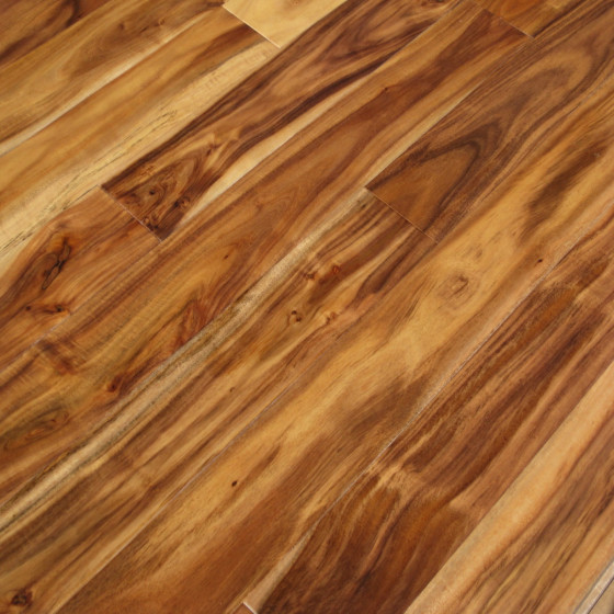 Acacia Handscraped Natural Hardwood Flooring