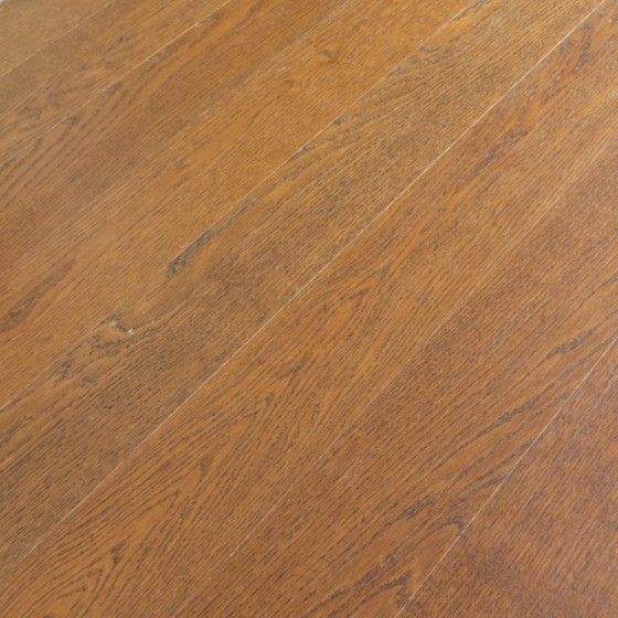 Haro Strip Prestige Cognac Brown Hardwood Flooring Thumb