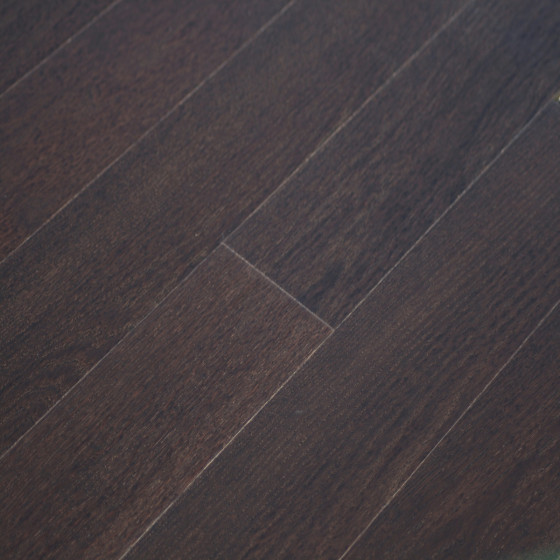 Haro Strip Prestige Dark Brown Flooring Enigeered Hardwood
