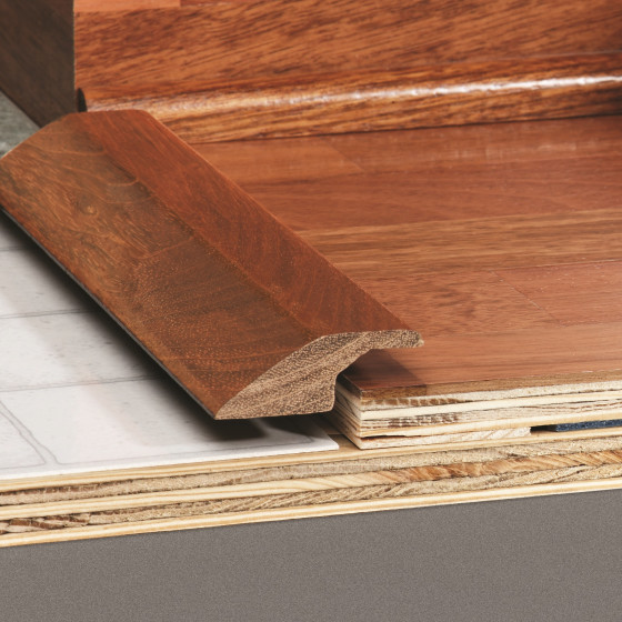 Reducer Overlap Transition Molding For Wood Flooring