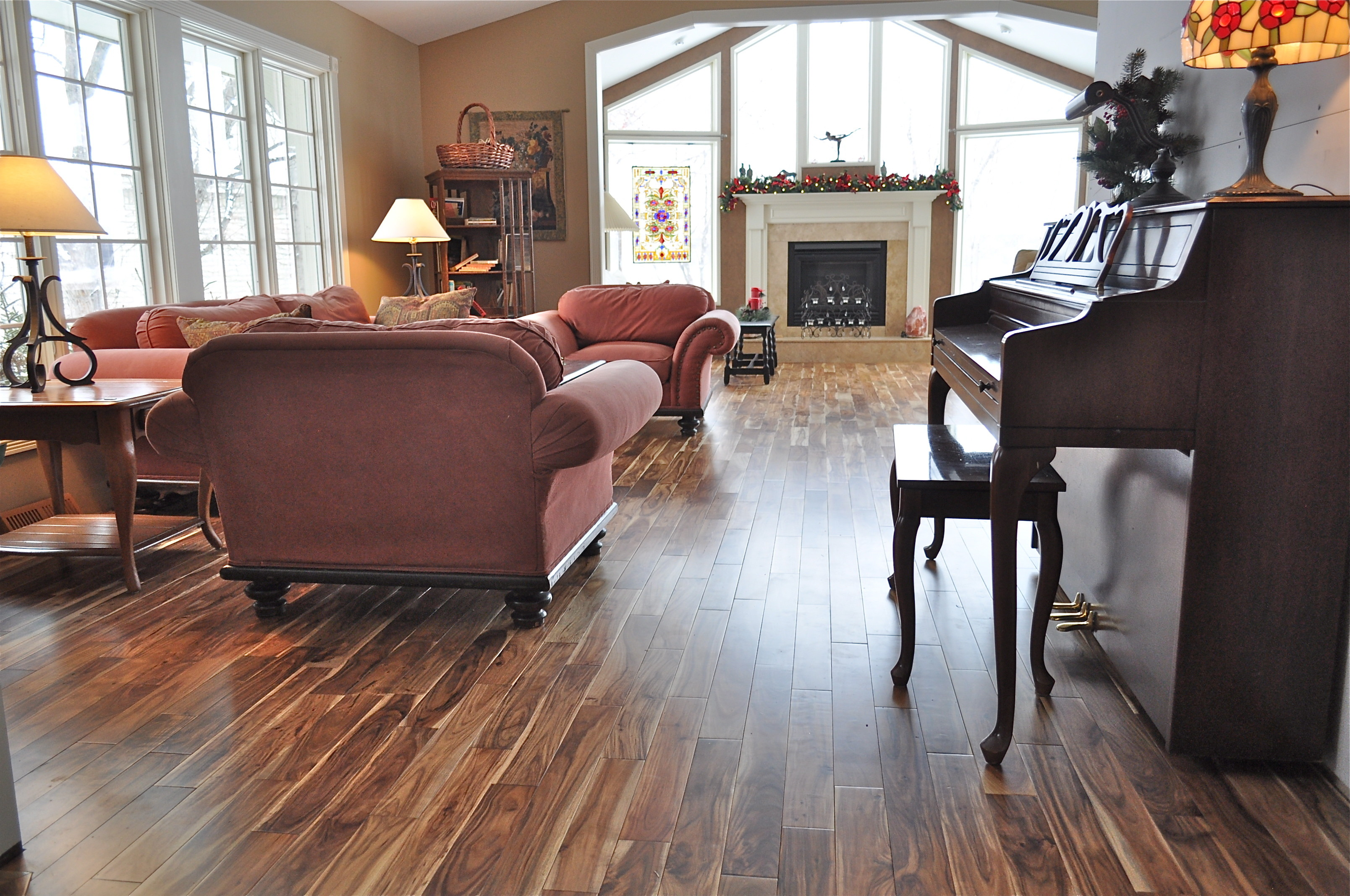 Acacia Natural Plank Hardwood Flooring | Unique Wood Floors