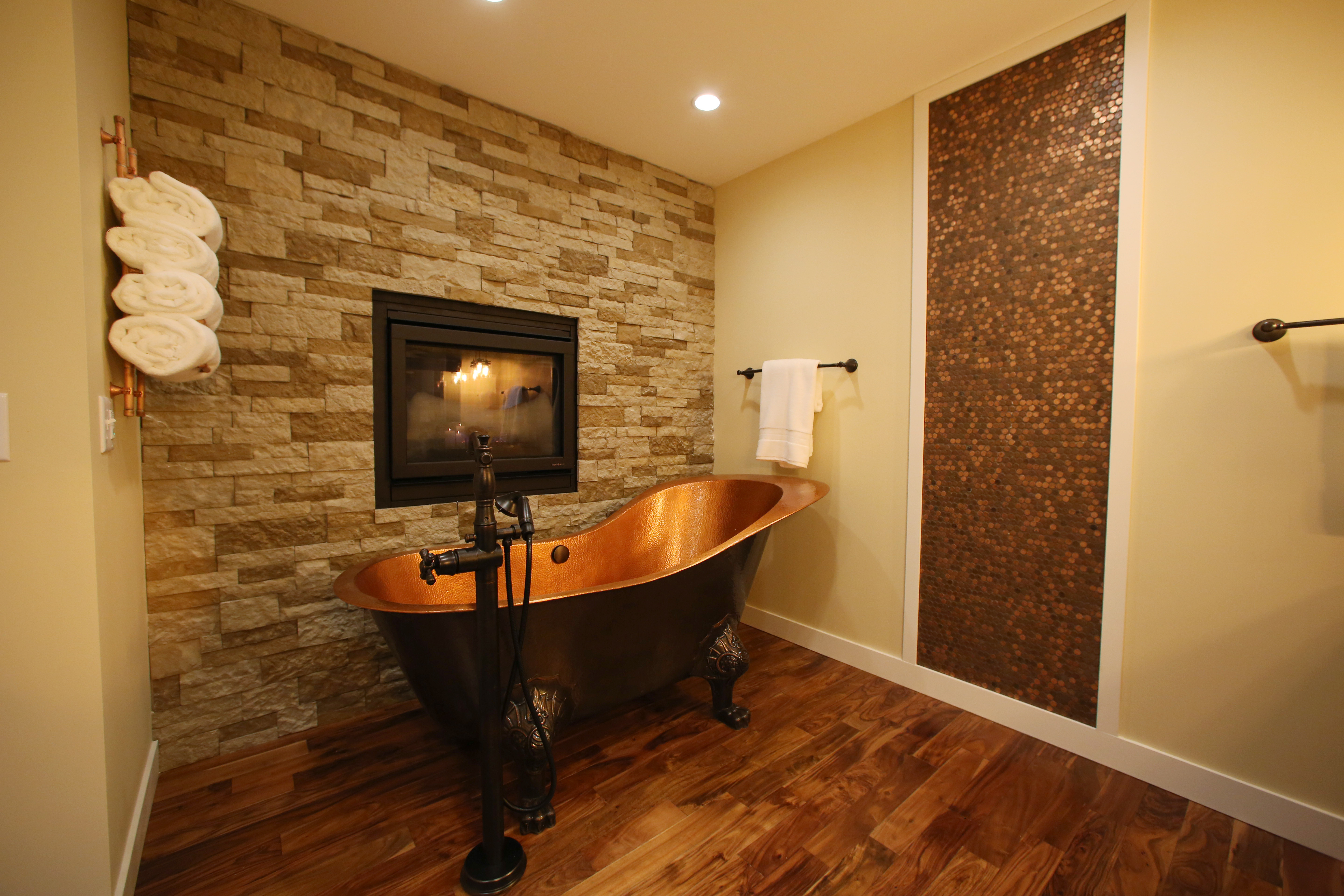 cost of tile for bathroom floor%0A Acacia Bronze Hardwood Flooring Acacia Bronze Bathtastic Copper Toned