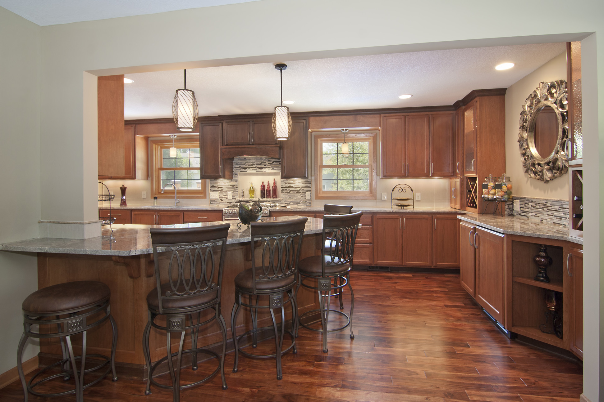 Hardwood Floors Kitchen Acacia Golden Sagebrush Plank Hardwood Flooring Acacia Confusa