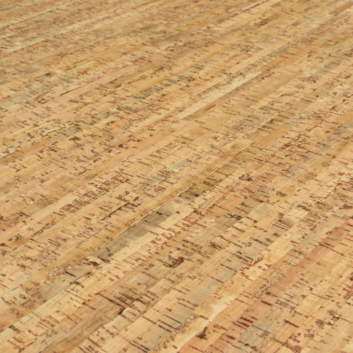 Line Art Cork Flooring Prefinished Engineered Cork