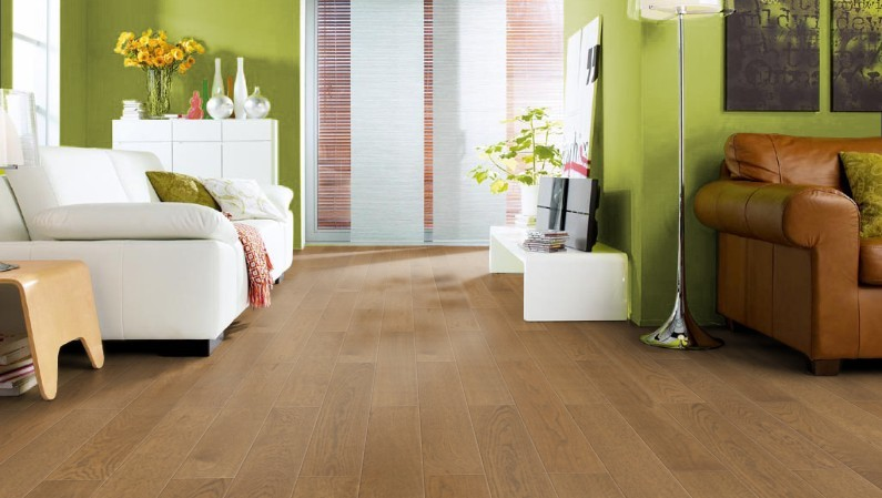 Haro Strip Prestige Antique Brown Flooring Enigeered Hardwood