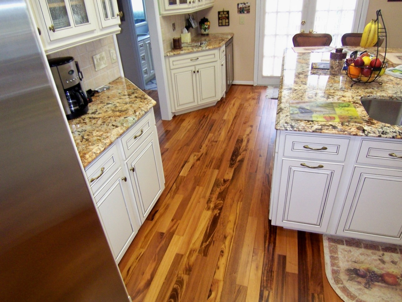 ... Tigerwood Plank Room kitchen Hardwood Flooring ... - Tigerwood Plank Hardwood Flooring Prefinished Solid Hardwood
