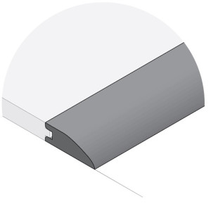 Remains Charcoal Reducer Flush Mount