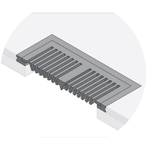 Flush Mount Vent Register