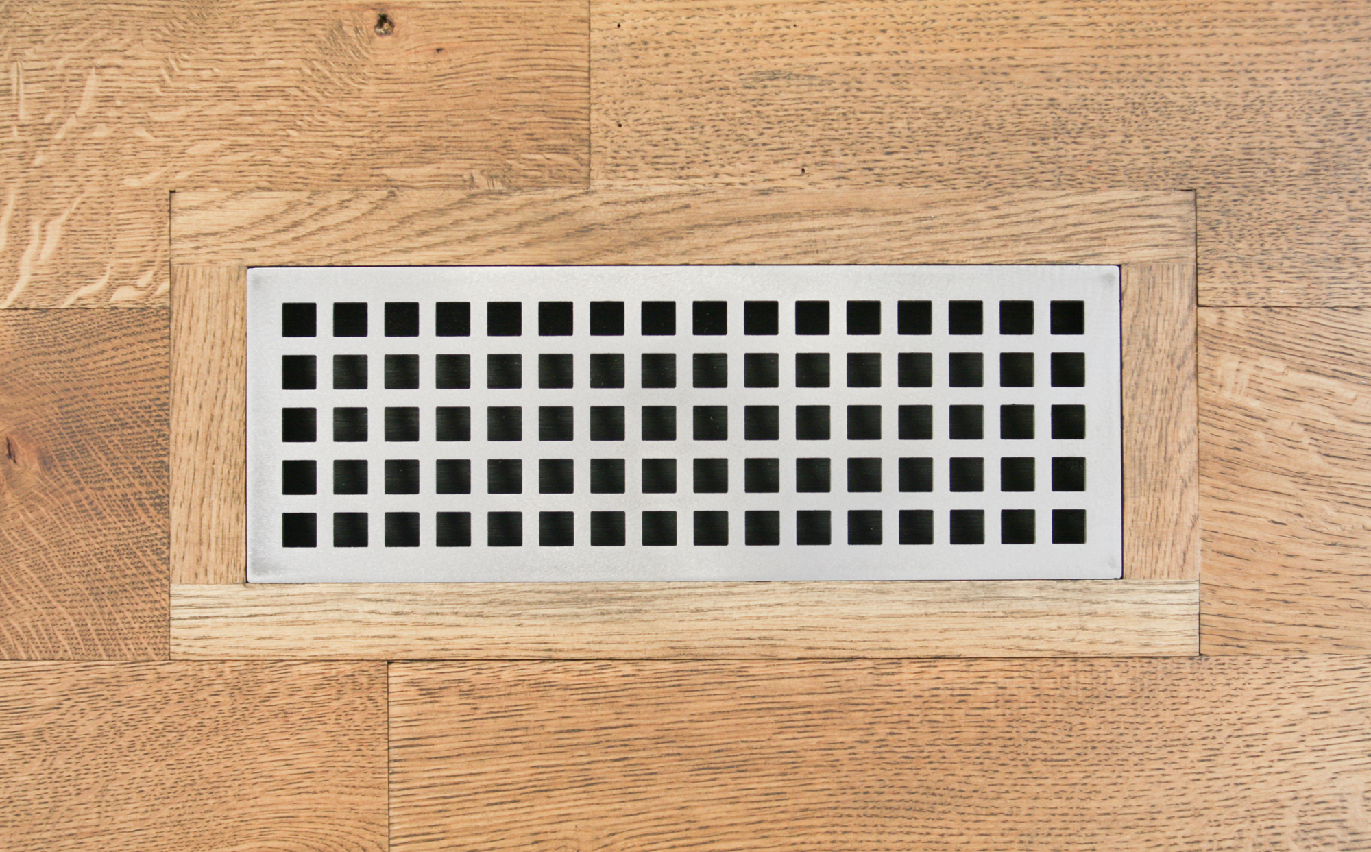 Eternal Grid Vent Register Flush Mount Carbon Steel