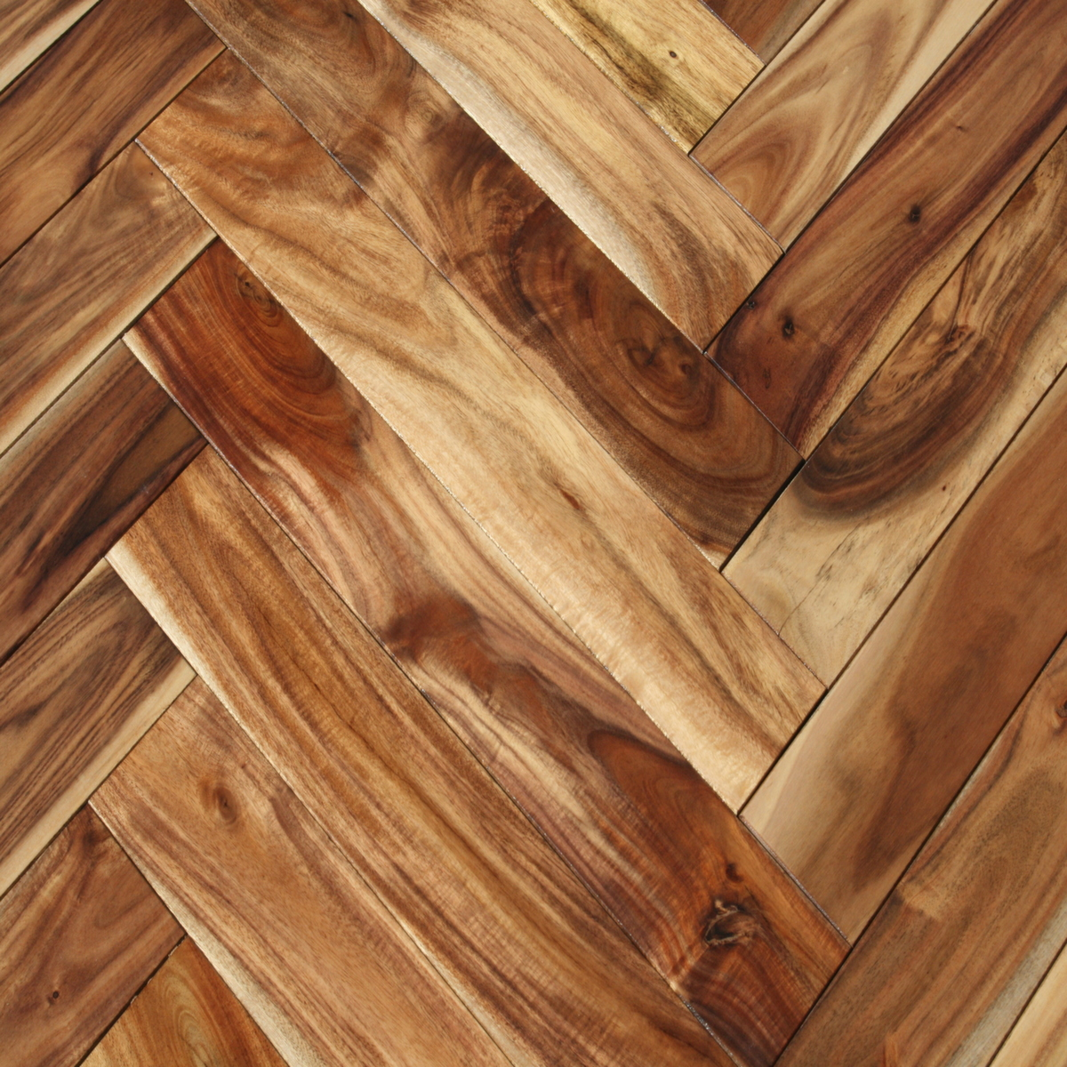 Acacia natural herringbone hardwood flooring unique wood for Which floor or what floor