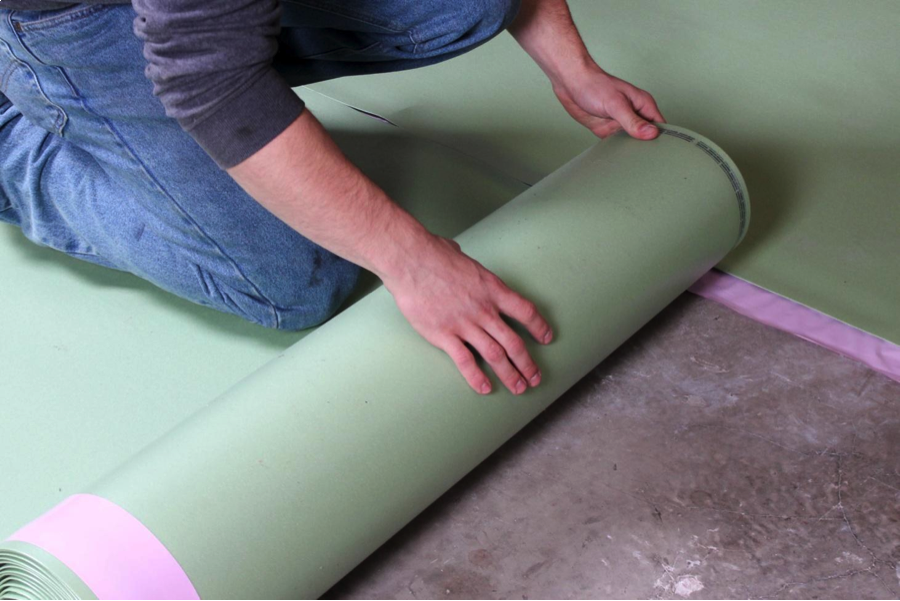 Floor Muffler Ultraseal Underlayment Installation Tips