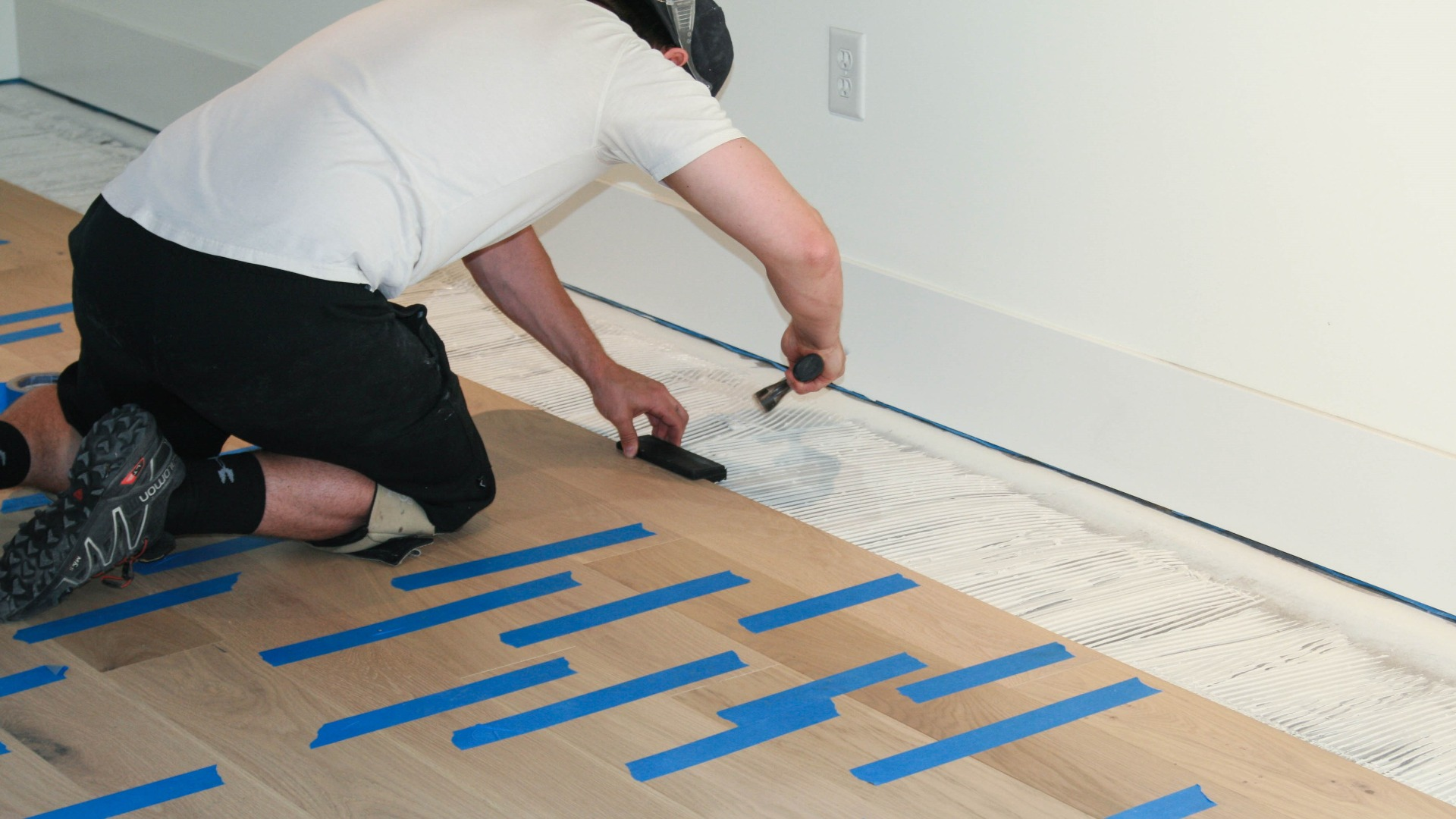 Glue Down Install