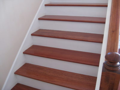 Upgrade Stair Treads And Risers With Hardwood Unique Wood Floors
