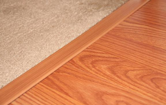 Prefinished Wood Floor Molding Provides The Final Touch Diy
