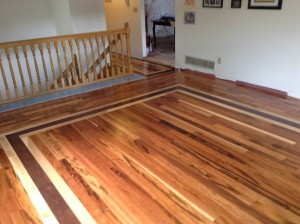 Perfect Tigerwood Border