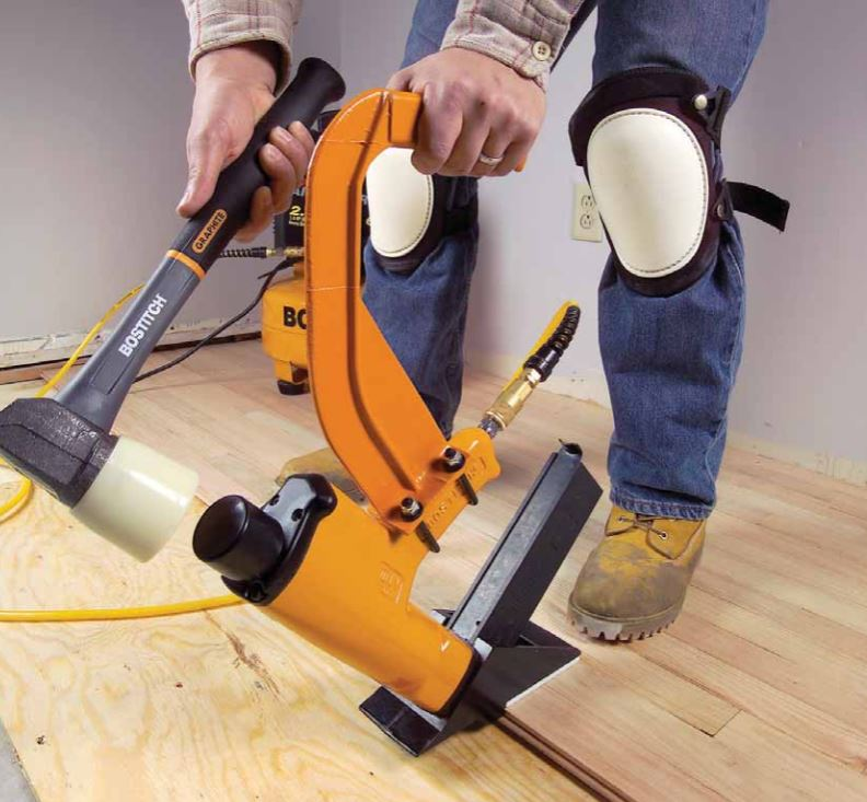 Is nail down installation the best unique wood floor for Installing 3 4 inch hardwood flooring