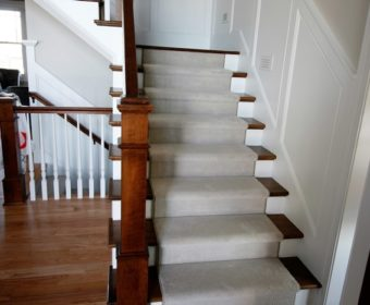 Installing Hardwood Treads And Risers Can Be A DIY Project. Stair Treads