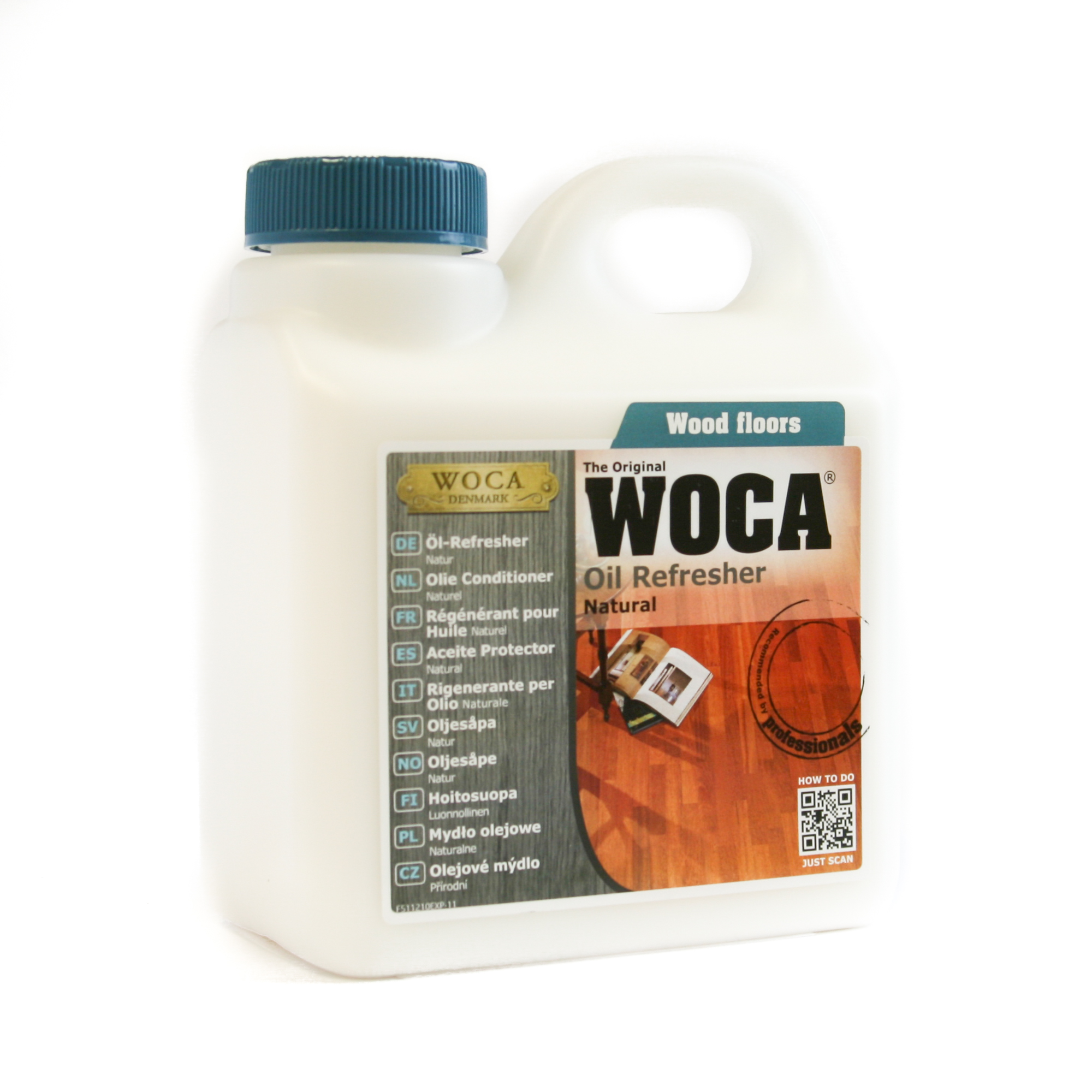 WOCA Oil Refresher Will Refresh Your Floor